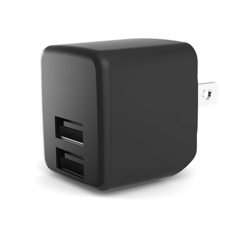 Wall Charger 5V 4A Output Dual <font><b>USB</b></font> Ports Folding Portable Durable Plug Charging Block <font><b>Power</b></font> <font><b>Adapter</b></font> image