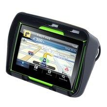 Обновлено 256 м ОЗУ 8 Гб флэш 4,3 дюймов мото Gps навигатор Водонепроницаемый Bluetooth мотоцикл Gps Автомобильная навигационная карта Европы