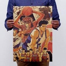 El Anime japonés blindado nostálgico papel Kraft clásico cartel de película clásica decoración de la Escuela Decoración de la pared del garaje arte estampados Retro