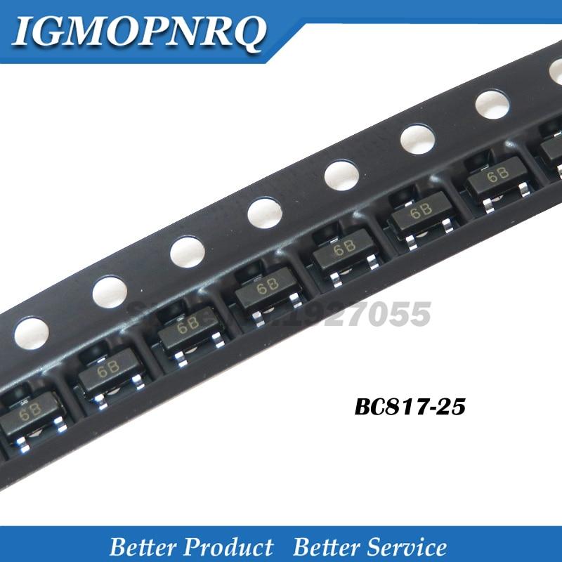 100PCS BC807-40 Transistors PNP SMD 45V 0,5A NEW HIGH QUALITY BEST