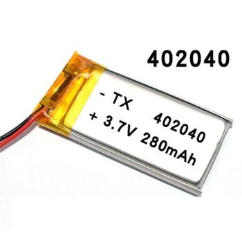3 7V 300mAh 402040 litowo-jonowy akumulator litowo-polimerowy baterie ogniwa na małe zabawki MP3 MP4 MP5 smartwatch GPS tanie i dobre opinie antirr Mp3 mp4 Standardowa bateria