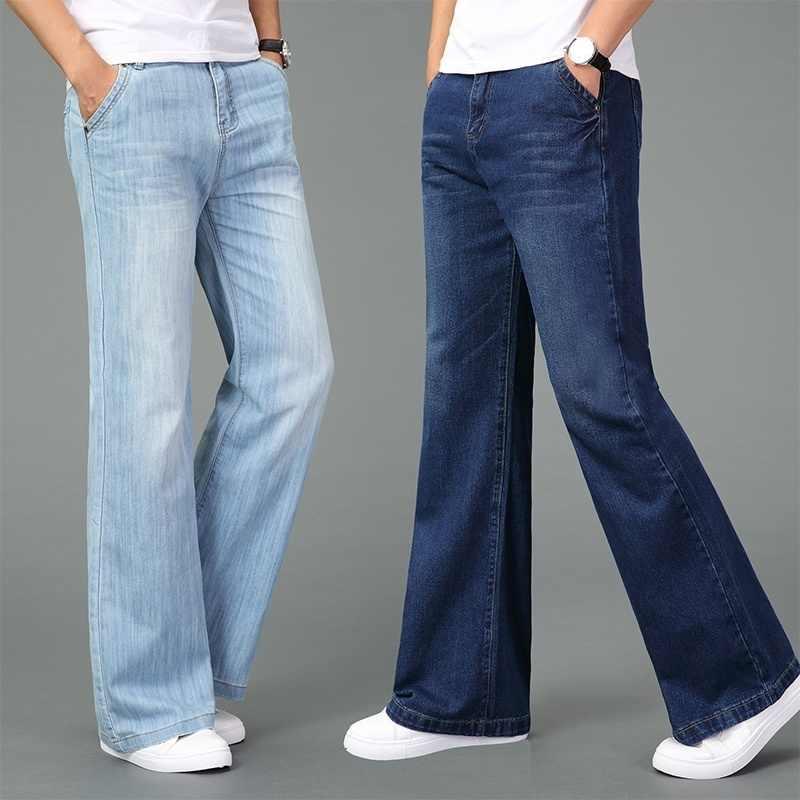 Jeans 60s 70s Vintage Vaqueros Pantalones De Mezclilla Retro Pantalones De Pierna Ancha Slim Para Hombres 923 375 Pantalones Vaqueros Aliexpress