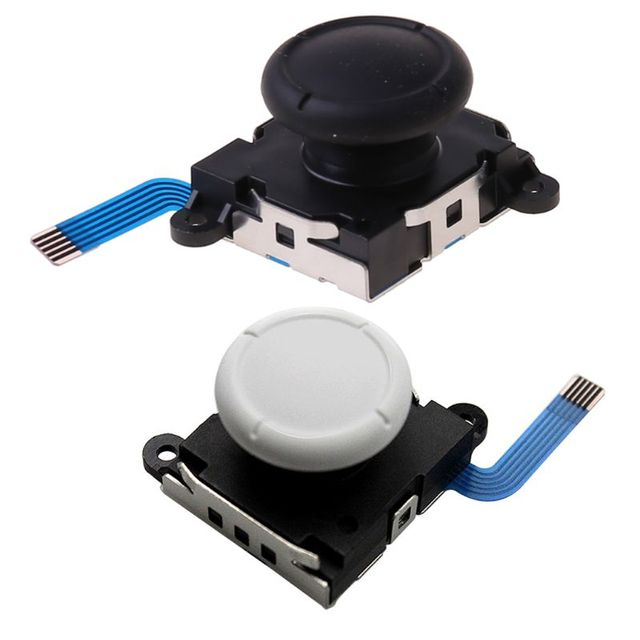 1Pc 3D Analog Sensor Stick Joystick Replacement for Nintend Switch Joycon Controller Handle Gaming Accessories  consoles 3