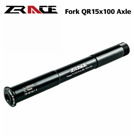 ZRACE MTB Fork QR15x100 Thru Axle Lever Accessories For ROCKSHOX 35g, 15x100 QR15 15*100