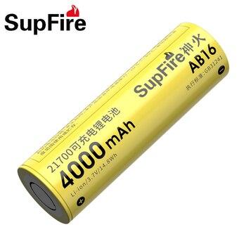21700 Battery 3.7V Flashlight Battery Lithium Rechargeable Battery 4000mAh Original Powerful Flash Light Battery