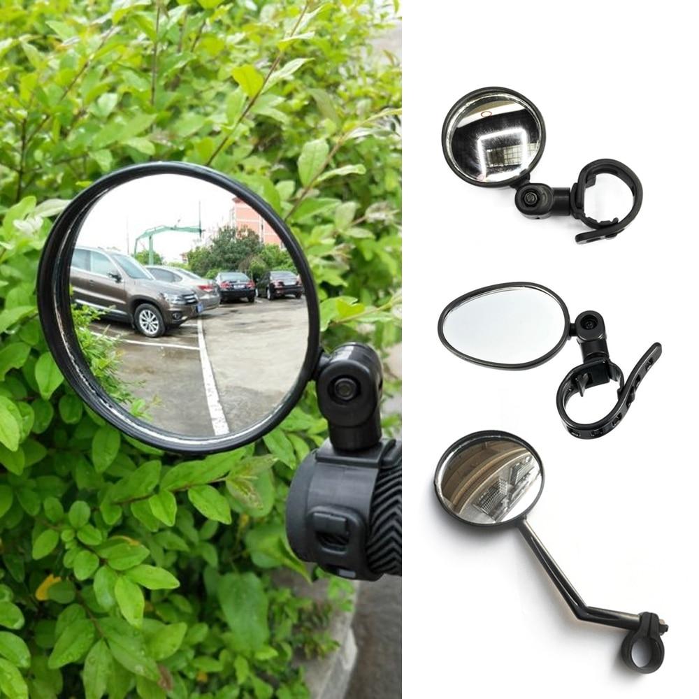 1 pieza de espejo retrovisor ajustable para bicicleta MTB, herramienta de seguridad en bicicleta, manillar, ojo trasero, espejos retrovisores para ciclismo, accesorios
