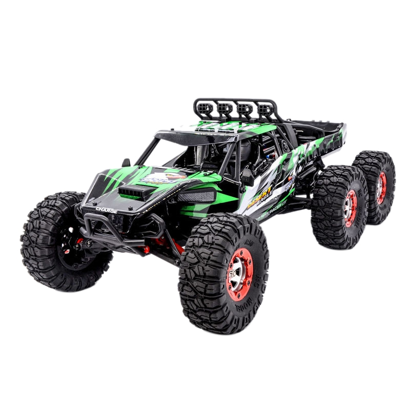 Hot-KW-C06 1:12 2.4Ghz 6WD RC Off-Road Desert Truck RTR 60Km Brushless High-Speed Shock Absorber Racing Cars Toys  - buy with discount
