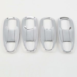 Image 5 - Chrome Door Handle Cover Trim for Toyota Land Cruiser Prado 150 2010 2012 2013 2014 2015 2016 2017 2018 2019 2020 Accessories