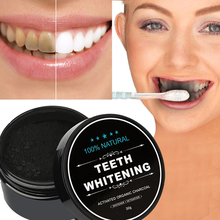 30g Tooth Whitening Powder Activated Bamboo Charcoal Toothpaste  Tartar Stain Removal Natural Teeth Whitening Charcoal Powder 30