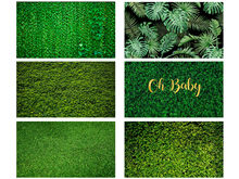 MEHOFOTO Grass Green Screen Foliage Leaves Party Decor Photography Background Customized Backdrops for Photo Studio(China)