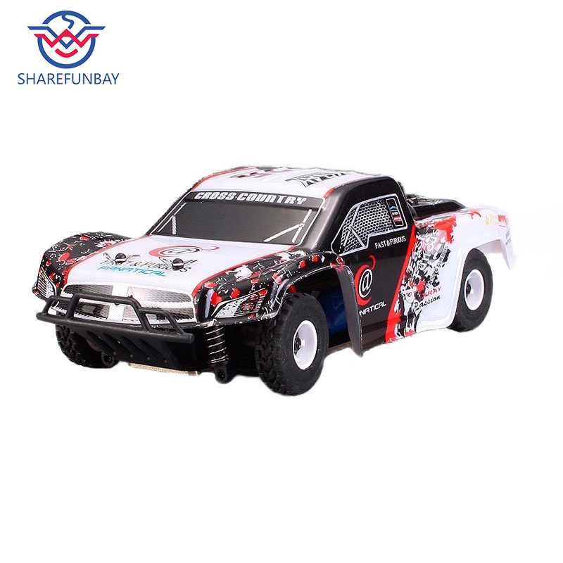 Wltoys K999 Rc Car 1:28 Off-road Vehicle 2.4G Electric Four-wheel Drive Remote Control Car Black Gold Chassis Speed 30km