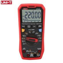 UNI-T ut61e + multímetro digital testador profissional verdadeiro rms faixa automática unidade medidor 220mf grande capacitância 22000 dígitos exibição