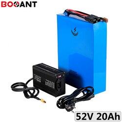 51.8V 48V 20Ah 1000W batterie lithium-ion 18650 14S 52V 20Ah 750W batterie de vélo électrique pour kits de moteur Bafang avec chargeur 5A