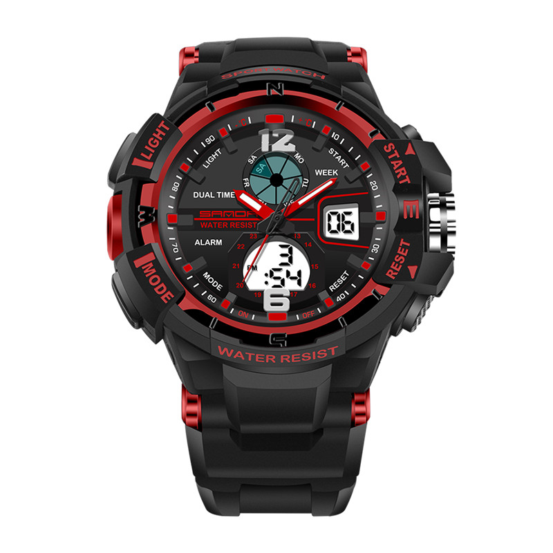 Watches Men Quartz Digital Watch Waterproof Sports Watches for Men Silicone LED Electronic Watch HOT Reloj Relogio Masculino #F