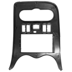 Image 4 - 2 din Car Radio Fascia for RENAULT Logan Sandero DACIA Duster Double din Radio Fascia Frame Adapter CD Panel Dash Trim Bezel