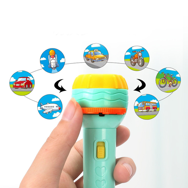 Projection Flashlight Lamp Toy 2