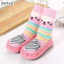 OUTAD kids Baby Socks Boys Girls Cute Printed Socks Children