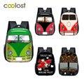 Мультяшный автобус  самолет  Маленький Малыш  рюкзак  мальчики  девочки  гоночные машины  сумка для детского сада  детские школьные сумки  де...