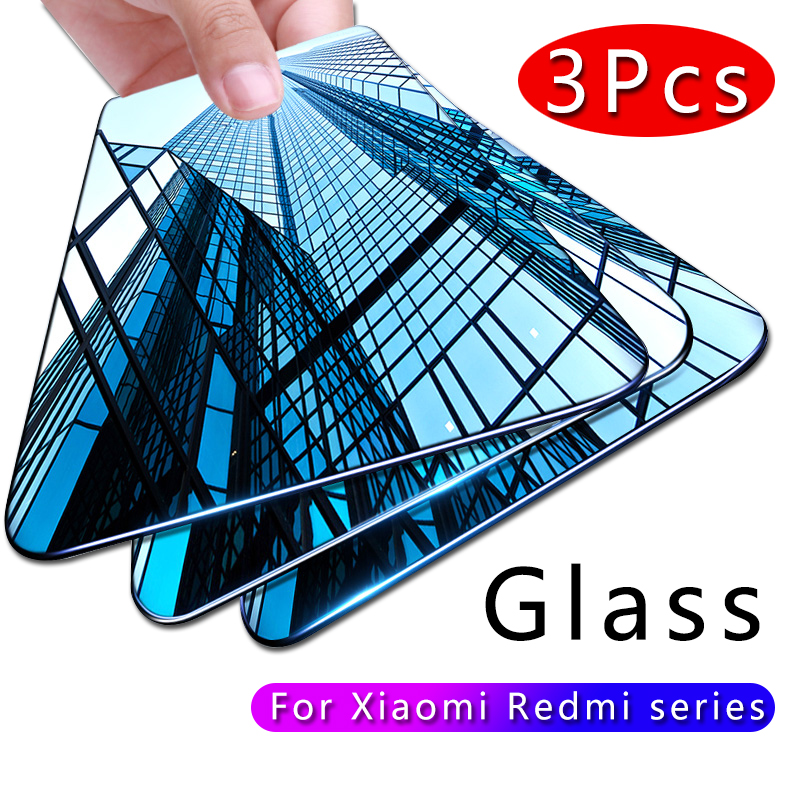 Protective Glass For Xiaomi Redmi Note 7 6 5 8 Pro 5A 6 Screen Protector For Redmi 5 Plus 6A Tempered Glass On Note 7 8 5 Pro 6A