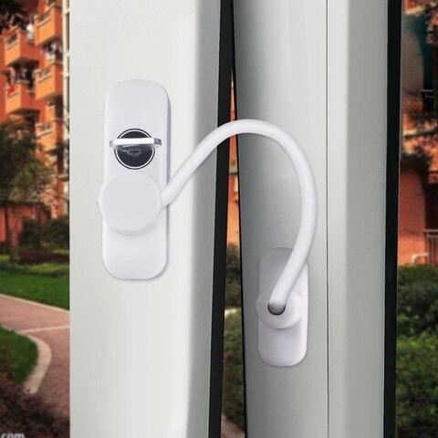 4 pcs criancas janela da porta de seguranca restrictor bloqueio com cabo para casa cozinha