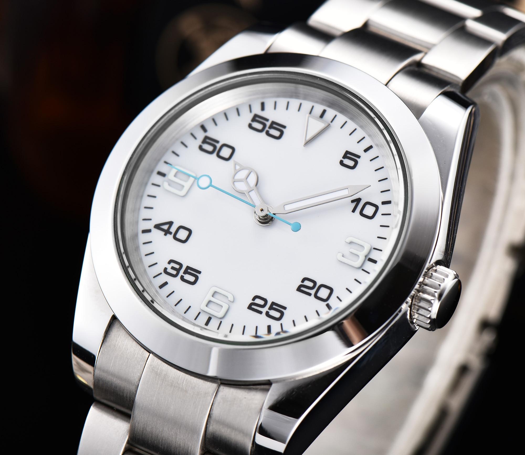 automatic mechanical watch watch men Luminous waterproof 316L Solid stainless steel 40MM LLS899