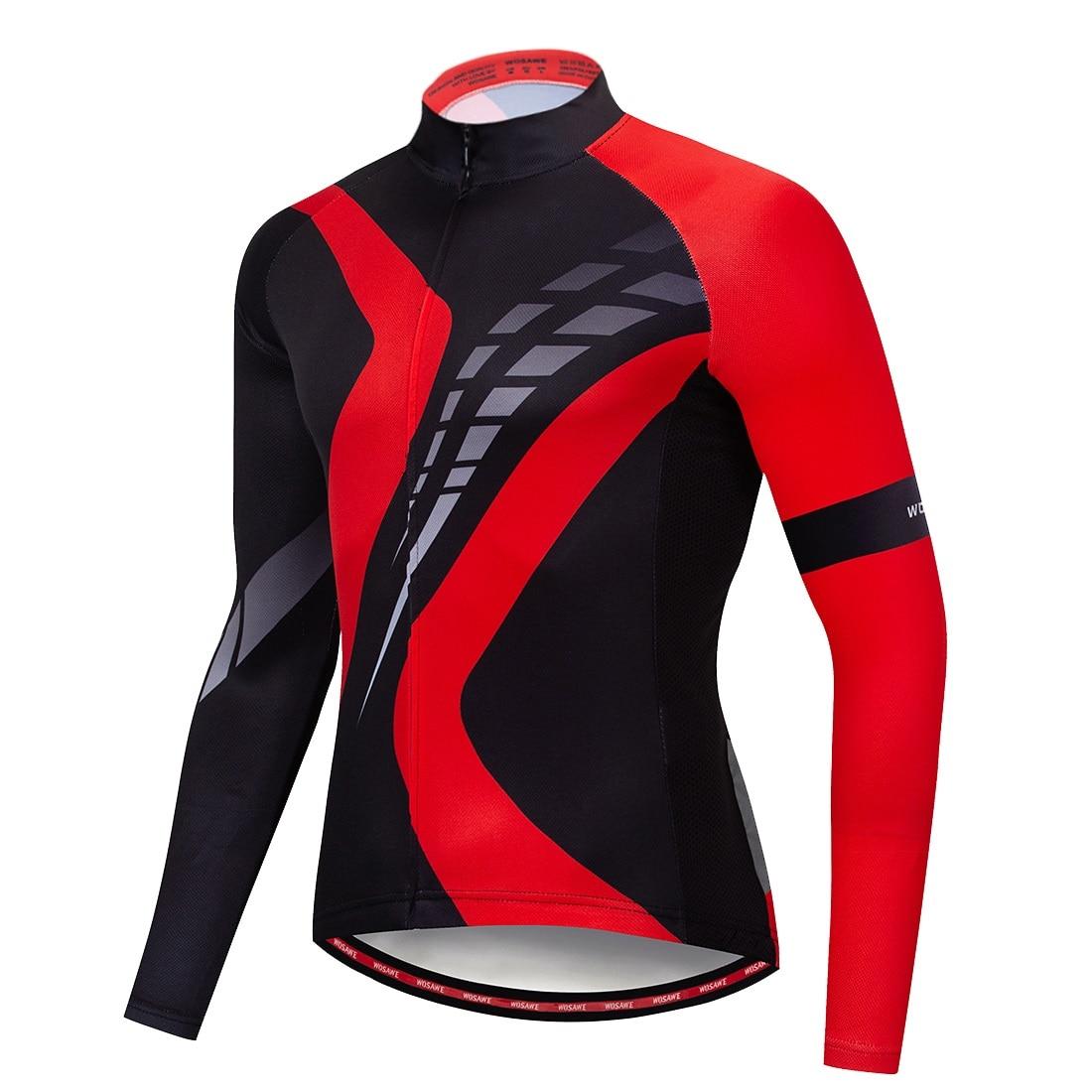 Autumn Cycling Men/'s Long Sleeve Zipper Jersey 3D Gel Pad Pants Quick Dry Suits