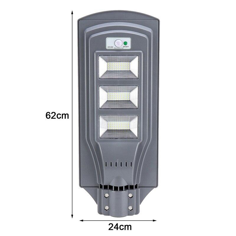 60 w led solar rua lâmpada de