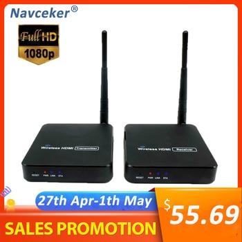2020 ZY-DT216 Wireless HDMI Video TV Transmitter Receiver WIFI 100m HDMI Extender Wireless HD 1080P Wireless Transmission System