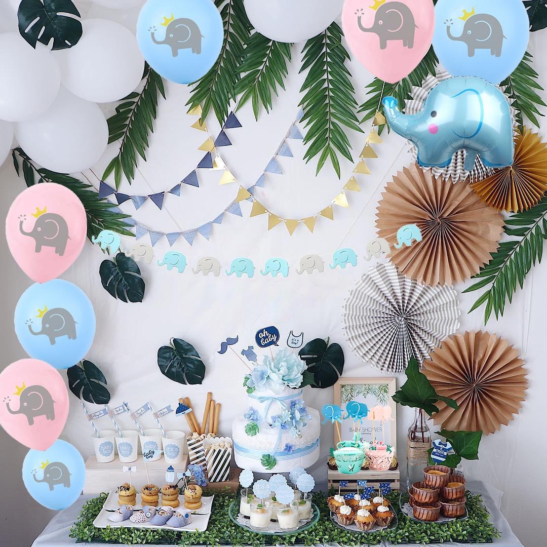 NEW Confetti Foil Balloons 5/'/' 8 colour Party Birthday Wedding Cake Decor Set ZH