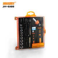 JAKEMY JM-6108 79 en 1 reparación de herramientas DIY soporte de broca magnética Juego de Herramientas de destornillador de trinquete