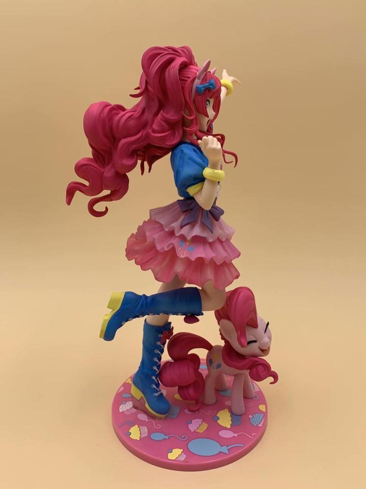 Pinkie Pie Bishoujo Statue Multicolor PVC Figure Figurine Toys My Little Pony