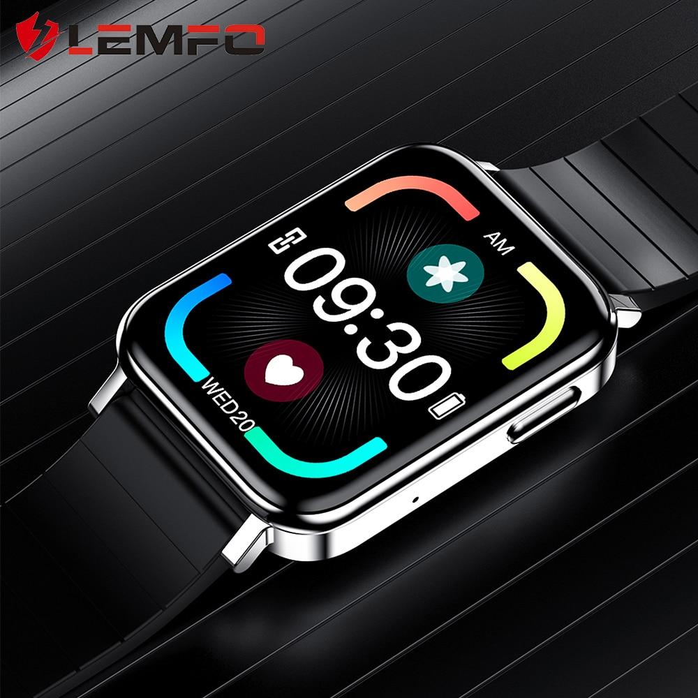 Смарт часы LEMFO T10 для мужчин 2020 Новые 18 языков Bluetooth звонки музыка DIY циферблаты Heartrate кровяное давление кислород для Android iOS|Смарт-часы|   | АлиЭкспресс