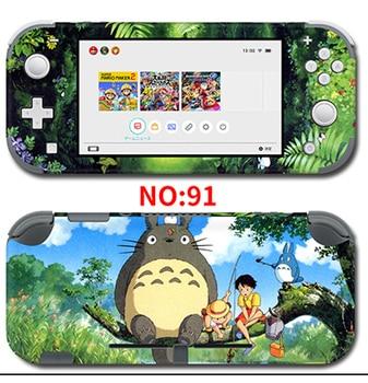Protector de la cubierta de vinilo de la etiqueta engomada DE LA PIEL DE LA para Nintendo interruptor lite consola Animal Crossing/emblema de fuego/Pokemon pegatina de monstruo