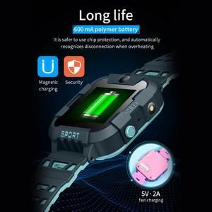 Image 4 - AllCall W58 Kids Smart Watch GPS Tracker 4G SIM Card Video Call with Light Camera SOS IP67 Waterproof Smartwatch For Girls Boys