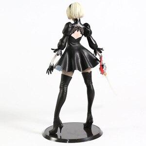 Image 5 - NieR: Automi 2B YoRHa No. 2 Neal NieR Action Figure Statua Modello Giocattolo Anime Figura Giocattoli di Raccolta