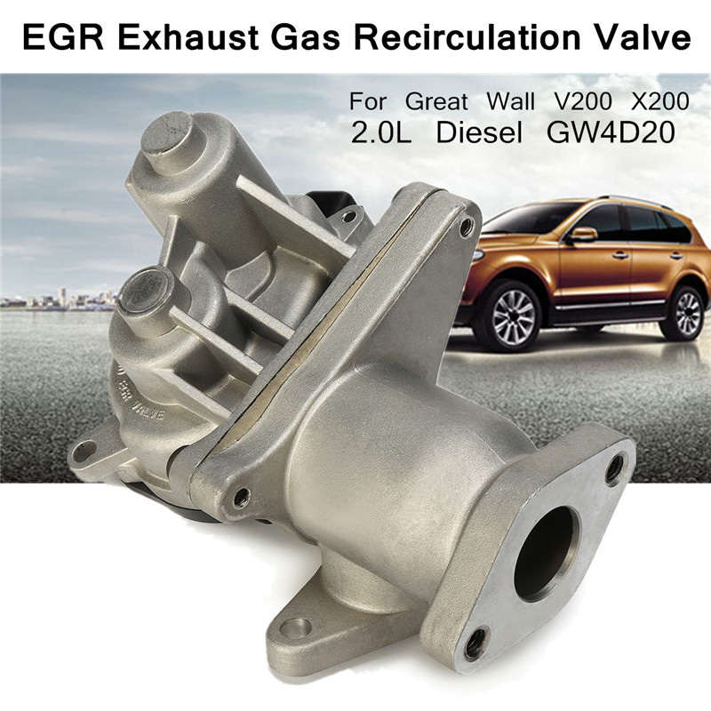 Egr Exhaust Gas Valve For Great Wall 1207100 Ed01A V200 x200 2.0L For crude oil Engine gw4D20 Recirculation Valve Reduce Tempe Valves & Parts     - title=