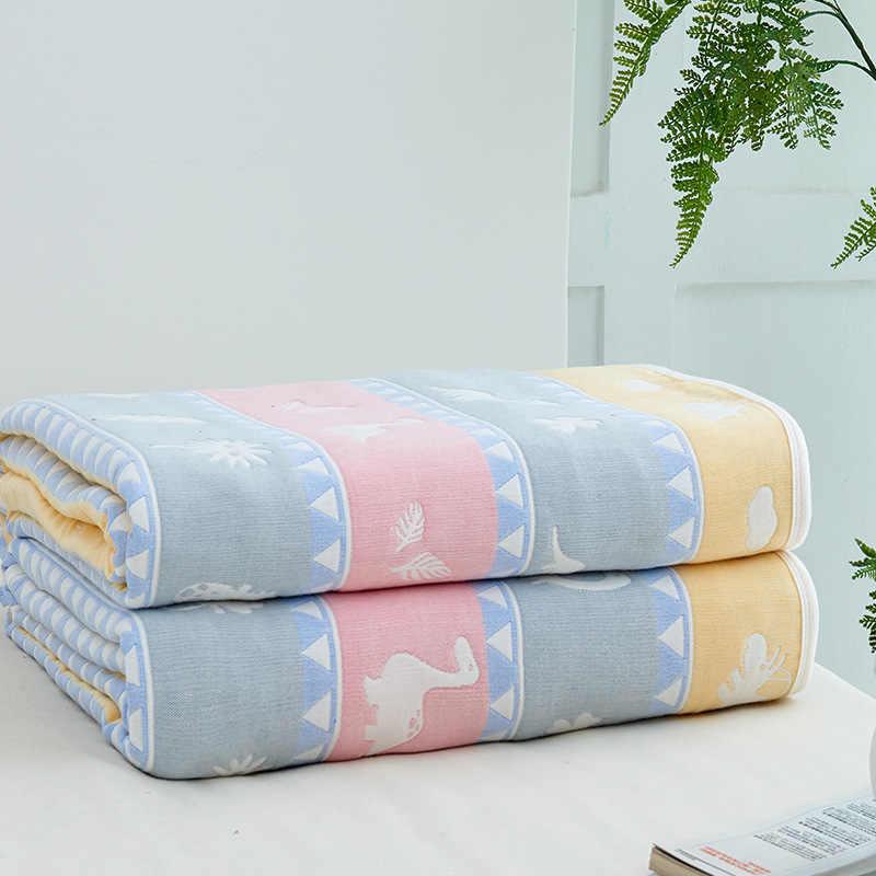 Baumwolle Bettwäsche Hause Decke Sommer Plaid Baby Bettdecke Neugeborenen Wraps Bade Handtücher Quilt Tröster für Kinder Königin/König Größe