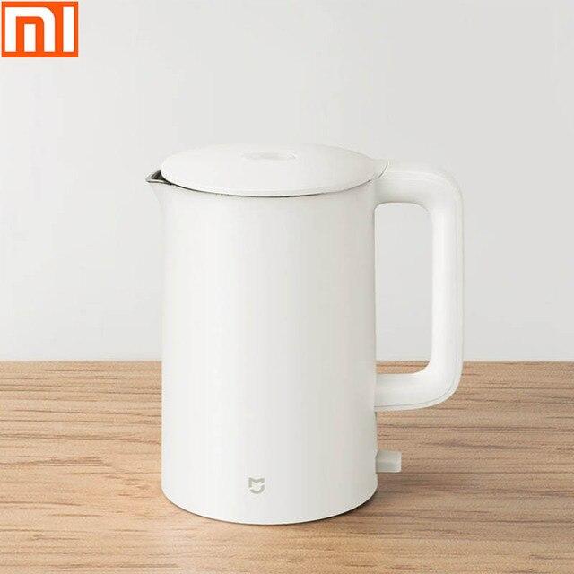 Xiaomi חשמלי קומקום/קיבולת גדולה/חשמלי קומקום/בסיס עם אנטי הלם עיצוב/304 נירוסטה, היגיינה