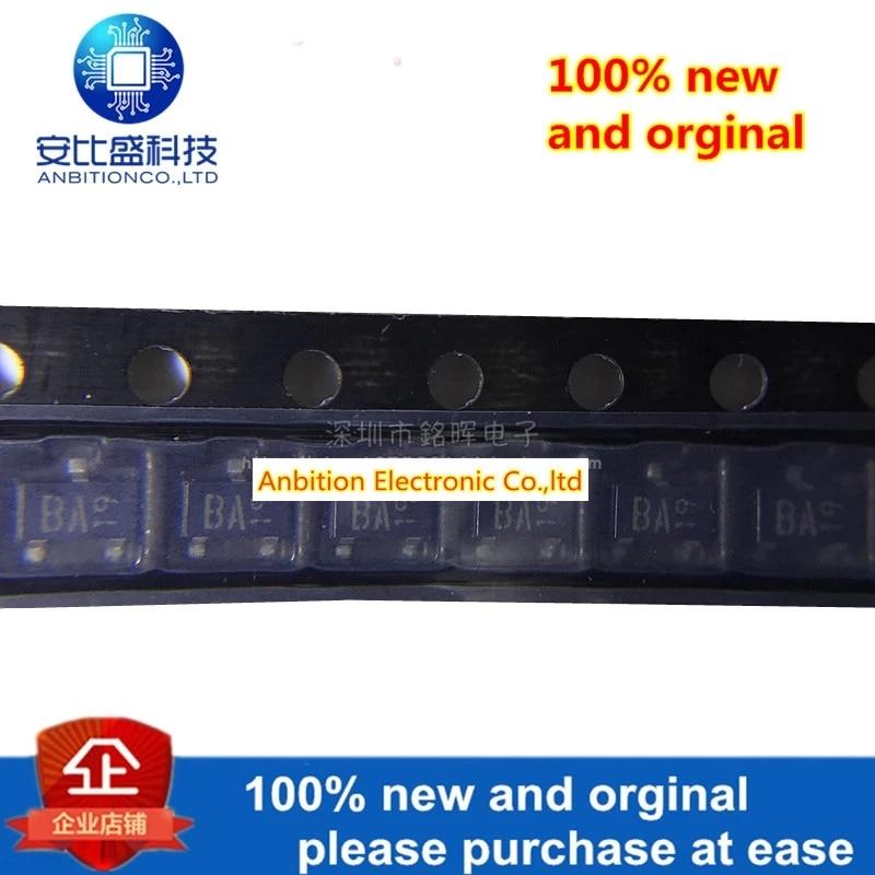 20pcs 100% New And Orginal DAN217T146 DAN217 Silk-screen BA SOT23 80V 100mA In Stock