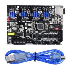 Image 3 - BIGTREETECH SKR mini E3 V1.2 32Bit carte de commande avec TMC2209 UART Driver 3D imprimante pièces skr v1.3 E3 Dip pour crealité Ender 3
