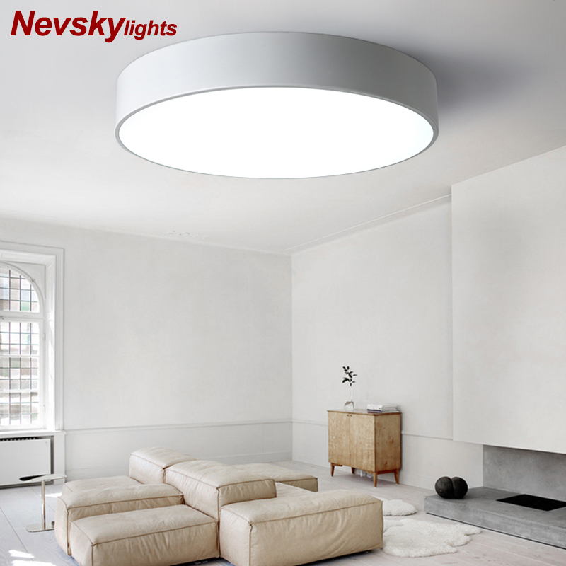 Tactile LED ceiling lighting ceiling lamps for the living room chandeliers Ceiling for the hall modern ceiling lamp high 10cm