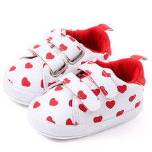 Unisex Baby Shoes Girl Boy First Shoes Soft Sole Kid Shoes Mixed Colors First Walkers Anti-Slip Infant Toddler Sneakers Booties cheap NoEnName_Null Rubber Cotton Fabric Hook Loop Solid baby First Walkers Soft Sole Shoes infant toddler shoes Fashion First Walkers