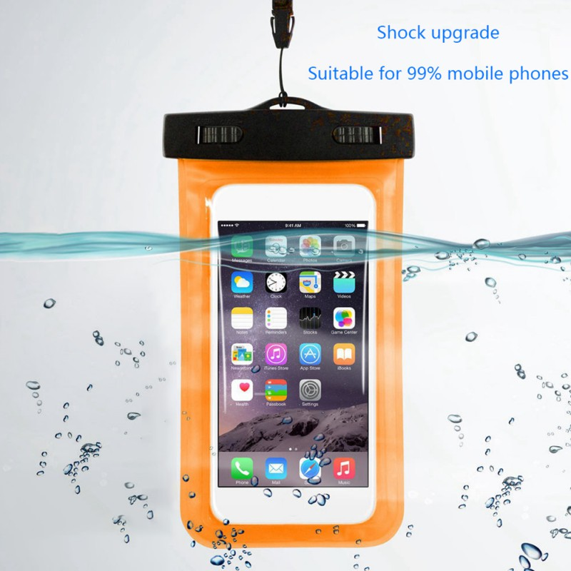 Waterproof Case Dry-Pouch Mobile-Phone Universal Transparent Practical