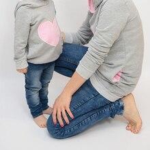 CYSINCOS/новейший дизайн; одежда для мамы и сына; свитер для мамы и дочки; одинаковые свитера для семьи; хлопковые осенние свитера