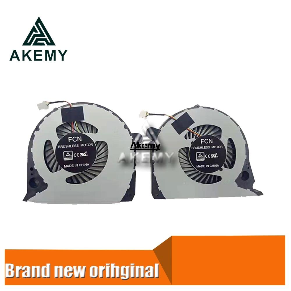 Novo original cpu gpu ventilador de refrigeração para dell inspiron g7 15-7000 7577 7588 G5-5587 p72f ventilador refrigerador 2 jjcp fjqs dc5v 0.5a fjqt