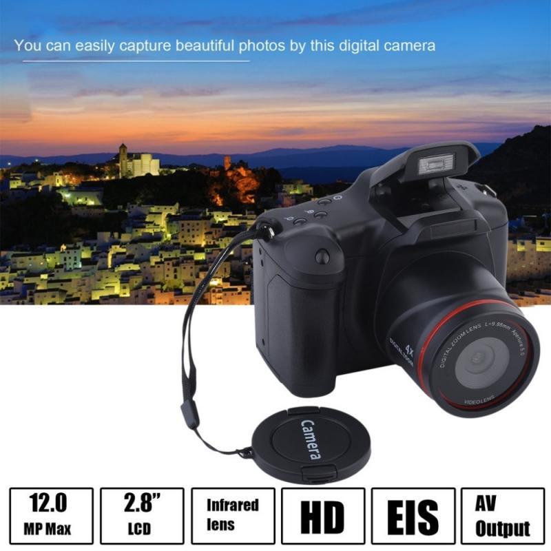 Портативная цифровая однообъективная зеркальная камера 1080P 16-кратный зум с защитой от тряски 2,4 дюймовый TFT ЖК-экран Full HD 16 мегапикселей CMOS с...