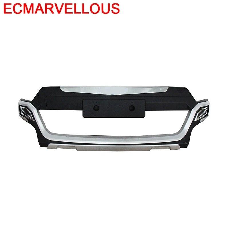 Accessoires pièces Protecter Automobile Automovil modifié style arrière diffuseur Tunning avant lèvre voiture pare chocs 15 pour Citroen C3 XR|Pare-chocs| |  -