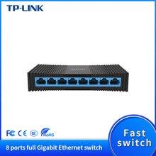 Tp-link TL-SG1008M mini 8 portas rj45 gigabit desktop switch 1000mbps soho ethernet switcher lan hub completo/meio frente e verso