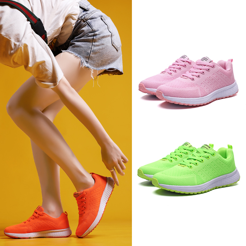 Damyuan Lightweight Women's Sneakers Summer new Running Shoes Outdoor Sports Shoes 39 Breathable Mesh Shoes Comfortable Shoes 42