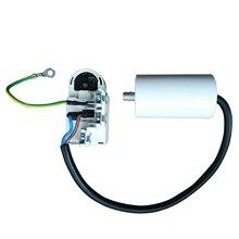 Для Haier стартер для холодильника протектор TY-QZ-108 реле компрессора аксессуары для ванной комнаты с 4,5 мкФ конденсатор с алюминиевой крышкой, части холодильника
